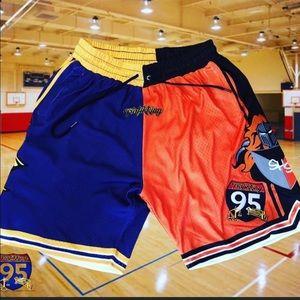 95trafikking custom High school rivalry shorts 🔥